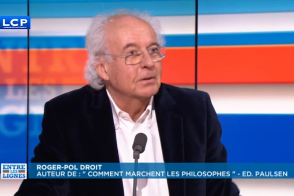 """Invité de """"Entre les lignes"""", de Frédéric Haziza sur LCP (25mn)"""